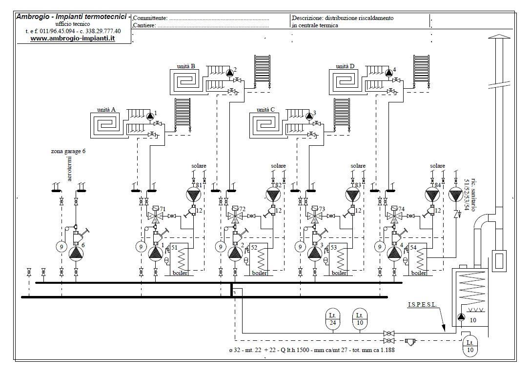 Ambrogio impianti termotecnici torino riscaldamento a for Pex sistema di riscaldamento ad acqua calda